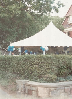 Formal Tent